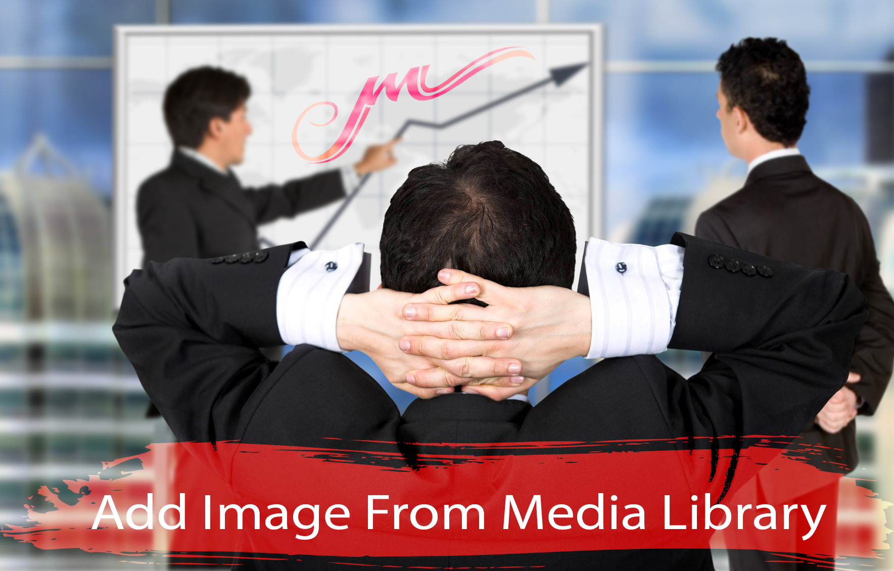 Add Image from Media Library