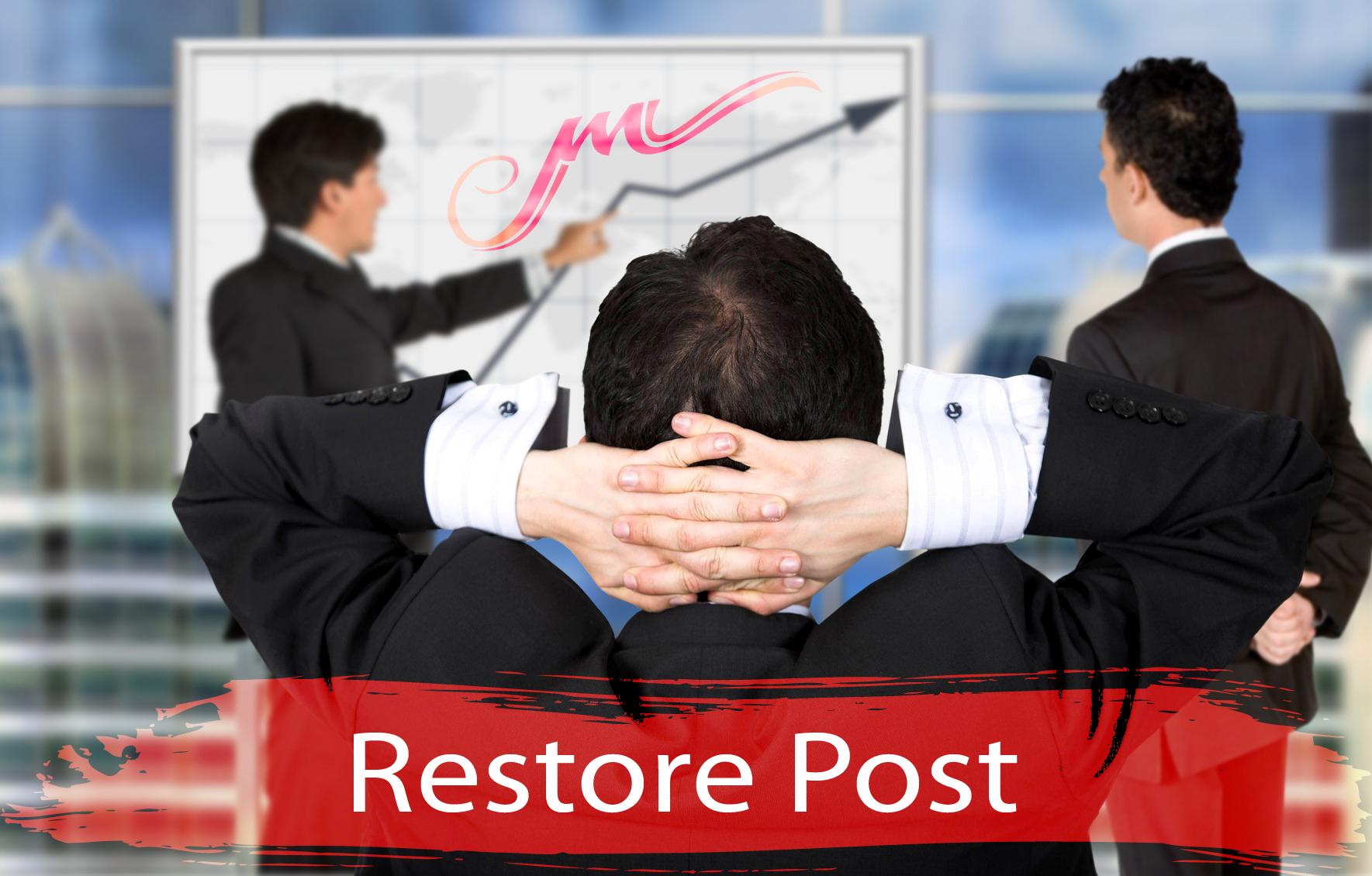 Restore Post