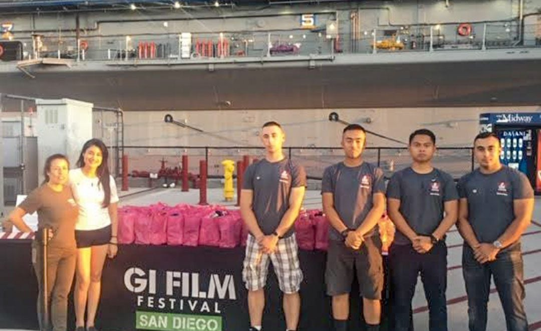 San Diego G.I. Film Festival Sock Drive for Homeless Vets